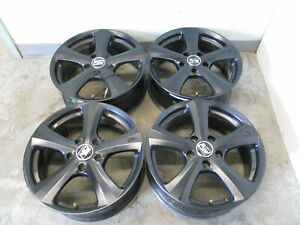 Aftermarket Msw Set Of 4 17 X 7 Black Wheel Rims From 2013 Gmc Terrain