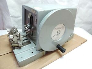 Ao Spencer 820 Microtome American Optical Vtg Rotary Cutting Tool