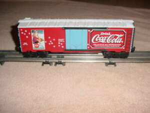 K-LINE BOX CAR # 7520 , COCA-COLA                 0-027