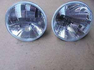 Ferrari Dino 246 Gt Pair Of Carello Headlight 03 490 700 New