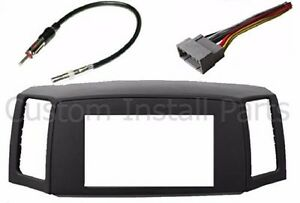Double Din Dash Install Radio Kit Wire Harness Fits 05 2007 Jeep Grand Cherokee