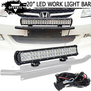 20inch Led Work Light Bar Combo Offroad Driving Lamp W Switch For Suv Truck 22