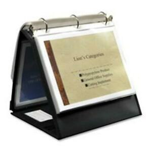 Sturdy Presentation Ring Binder Easel 3 4 Capacity 10 Horizontal 30 Recycled