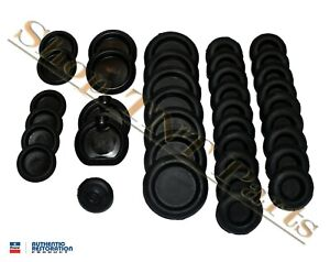 1973 74 Charger Dodge Body Plug Kit Mopar Lic d Rubber Grommet Inserts