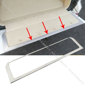 Rear Trunk Tailgate Frame Molding Cover Trim For Toyota Land Cruiser Lc200 08 19