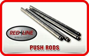 91 95 Chevrolet Gm Bbc 454 7 4l Ohv V8 N Push Rods Pushrods Set Of 16