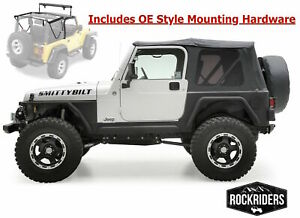 1997 2006 Jeep Wrangler Tj Complete Soft Top With Mounting Hardware Kit