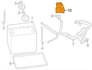 For Toyota Genuine Battery Terminal Protector Su00302359