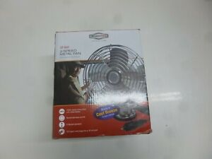 New Roadpro Car Fan Heavy Duty 12v