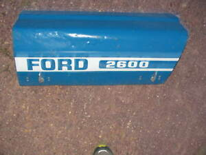 Ford Tractor 2600 Hood Cowl