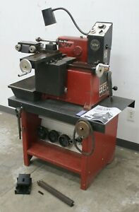 Van Norman 243 Disc Drum Brake Lathe W Bench Adapters Variable Speed Feed