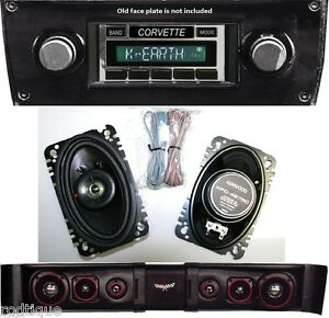 1977 1982 Chevy Corvette Coupe Radio With 8 Stereo Speakers 630 knw sb