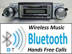 1970 1972 Cutlass 442 Bluetooth Radio Hands Free 300 Watts 630 Ii Bt
