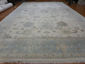 Super Turkish Vg Dy Oushak Chobi Heriz Serapi Tabrizz 12x20 Contemporary Rug