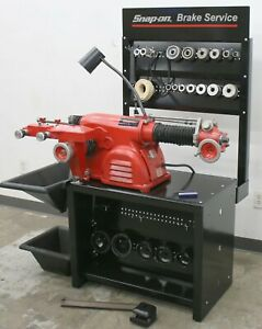 Very Nice Ammco 4100 Heavy Duty Disc And Drum Brake Lathe Loaded W Adapter Kit