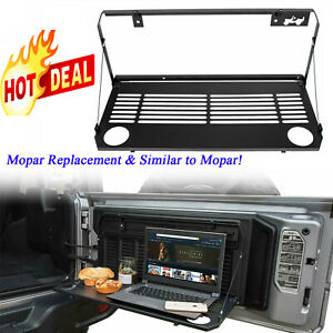 Rear Multi Purpose Tailgate Mounted Table For 18 19 Jeep Wrangler Jl Accessories
