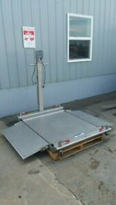 Mettler Toledo 1000lb Floor Scale With Panther Pthk 1000 000 Indicator