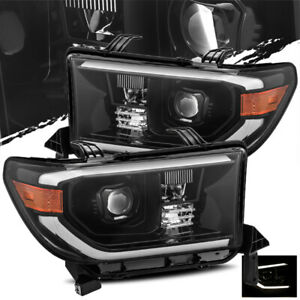 For 2007 2013 Toyota Tundra 2008 2013 Sequoia Mid Night Black Projector