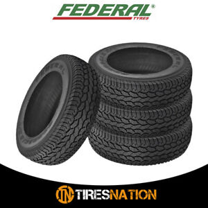 4 New Federal Couragia A t Lt285 75r16 122 119q 8pr Tires