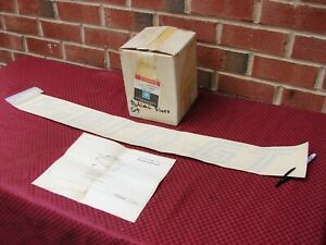 85 88 Pontiac Fiero Gt Nos Gm Windsheild Window Decal Kit Pt 999277