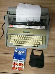 Brother Sx 4000 Daisy Wheel Portable Electronic Typewriter