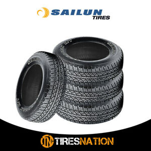 4 New Sailun Terramax H t 225 75 15 102s Owl On off Road Performance Tires