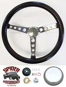 Fits All Cars 1965 1969 Mercury Steering Wheel 14 1 2 Classic Chrome