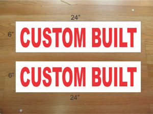 Custom Built 6 x24 Real Estate Rider Signs Buy 1 Get 1 Free 2 Sided
