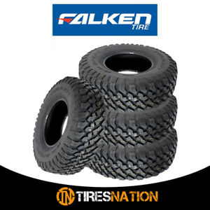 4 New Falken Wild Peak M t Lt35x12 50r17 E 121q Toughest All Terrain Mud Tires
