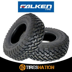 2 New Falken Wild Peak M t Lt35x12 50r17 E 121q Toughest All Terrain Mud Tires