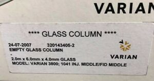 Chromosorb Whp Varian Gc Column Glass Packed Cp99961c Varian 3800 Read