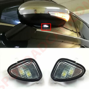 Side Mirror Led Puddle Lamp 2p For Hyundai 2012 2016 I40 Veloster Oem Parts