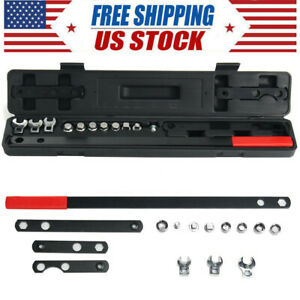 16pcs Wrench Serpentine Belt Tension Tool Kit Automotive Repair Sockets Set Usa