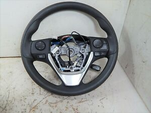 2019 Toyota Corolla Black Steering Wheel W Cruise Controls Oem Lkq