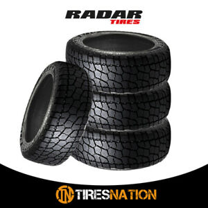 4 New Radar Renegade At 5 35x12 50r17lt 10pr 121r Tl All Terrain Tires