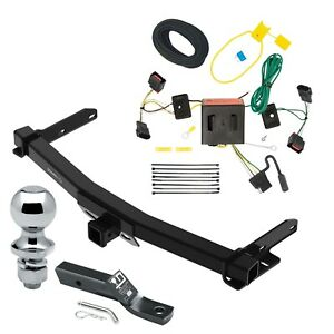 Trailer Tow Hitch For 11 13 Dodge Durango Complete Package W Wi