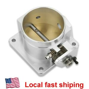 Performance Billet 75mm Throttle Body For 86 93 Ford Mustang Gt Cobra Lx 5 0 V8