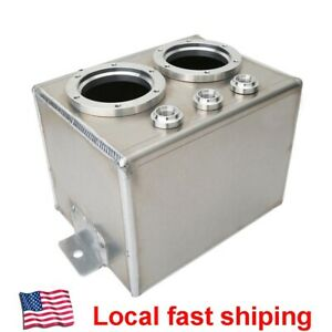 3l High Flow Dual Aluminum Swirl Fuel Surge Tank Can An6 Without 044 Fuel Pump