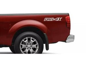 Nissan Frontier Pro 4x Body Decal Sticker New Custom 2pc Set Both Sides Truck De