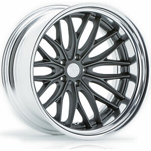 4 20x12 Gray Wheel Vossen Vws2 5x5 44