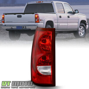 2003 2006 Chevy Silverado 1500 Tail Light Lamp W Bulb Harness Lh Driver Side