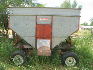 Gravity Wagon 275 Bushels 8 Ton Running Gear Corn Beans Wheat Oats Rye