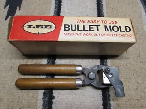 EXC LEE BULLET MOLD 457-405F WITH HANDLES FOR 45 CALIBER RIFLES .457 DIA. 405 GR