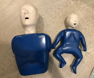 Cpr Prompt Training Adult Child And Infant Baby Manikin Dummy Used