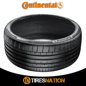 1 New Continental Contisportcontact 6 295 30zr20xl 101y Tires