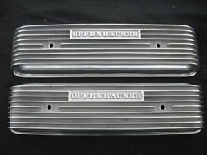 Offy 3286 Oldsmobile 1949 Thru 56 303 324 Motors Finned Valve Cover Set