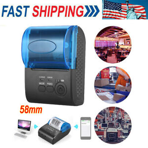 Pos 5805dd Mini 58mm Wireless Usb Thermal Printer For Ios Android Windows M9r4