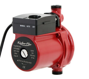110v 3 4 120w Automatic Hot Water Circulation Pump For Solar Heater System