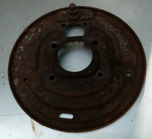 Ford Falcon Mustang Right Rear Brake Backing Plate 1964 And 1965