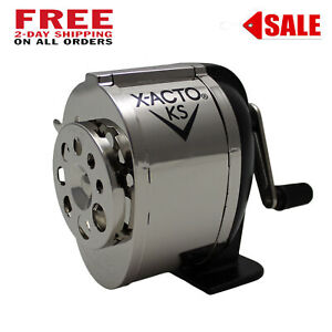 Pencil Sharpener Vintage Metal Mountable On Wall Desk Or Table Free Shipping